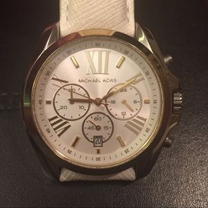 Micheal Kors White Watch